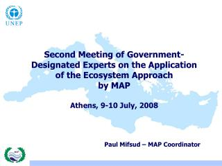Second Meeting of Government-Designated Experts on the Application of the Ecosystem Approach