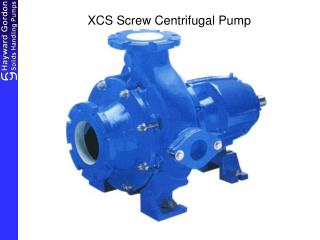 XCS Screw Centrifugal Pump