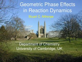 Geometric Phase Effects in Reaction Dynamics