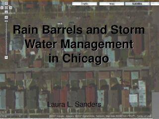 Rain Barrels and Storm Water Management  in Chicago