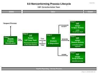 9.0 Nonconforming Process Lifecycle