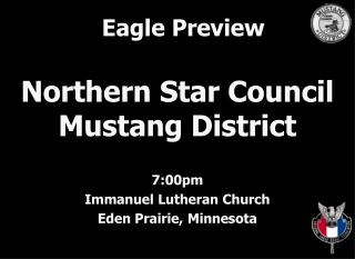 Northern Star Council Mustang District