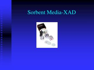 Sorbent Media-XAD