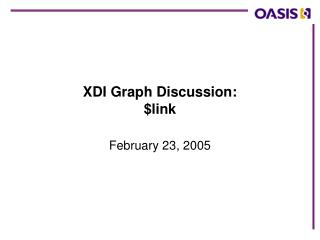 XDI Graph Discussion: $link