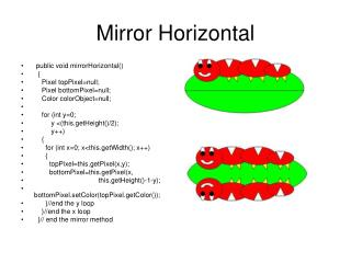 Mirror Horizontal