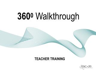 360 0 Walkthrough