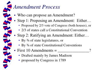 Amendment Process