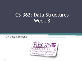 CS-362: Data Structures Week 8