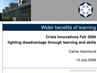Wider benefits of learning