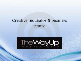 Creative incubator & business  centre