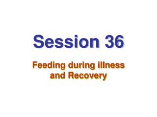 Session 36