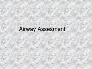 Airway Assesment