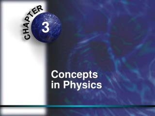 Concepts  in Physics