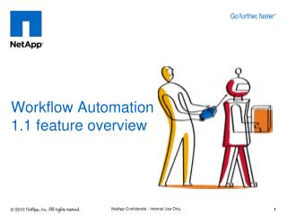 Workflow Automation  1.1 feature overview