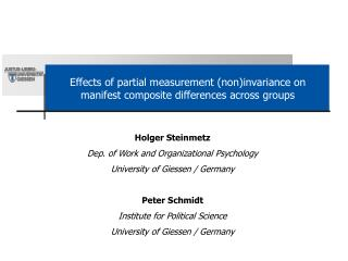 Effects of partial measurement (non)invariance on manifest composite differences across groups
