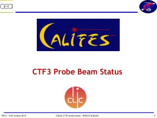 CTF3 Probe Beam Status