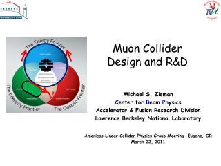 Muon Collider  Design and R&D