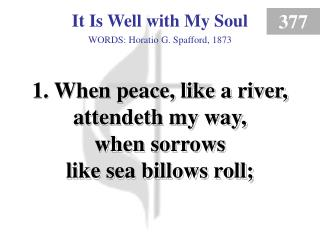 It Is Well With My Soul (1)