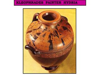 KLEOPHRADES  PAINTER  HYDRIA