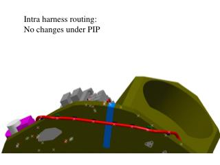 Intra harness routing: No changes under PIP