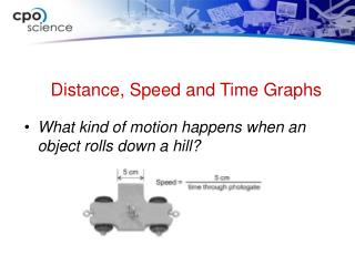 What kind of motion happens when an object rolls down a hill?