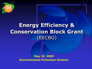 Energy Efficiency & Conservation Block Grant (EECBG)