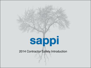 2014 Contractor Safety Introduction