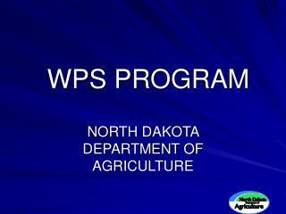 WPS PROGRAM