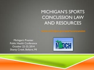 Michigan's Sports Concussion Law and Resources