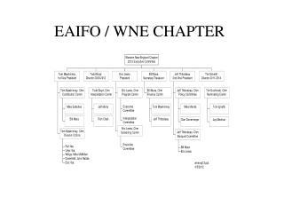 EAIFO / WNE CHAPTER