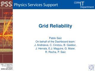 Grid Reliability