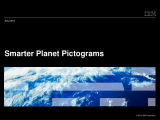 Smarter Planet Pictograms