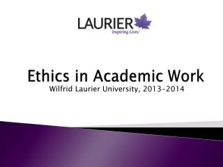 Ethics in Academic Work