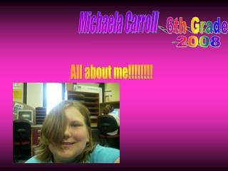 Michaela Carroll
