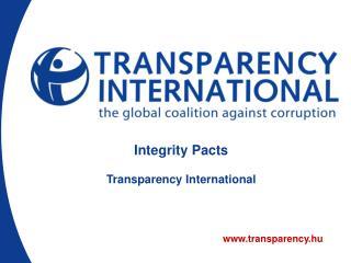 transparency. hu
