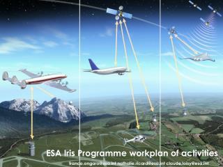 ESA Iris Programme workplan of activities