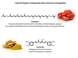 Lycopene Polyene phytochemical found in tomotoes, red bell pepper, papaya