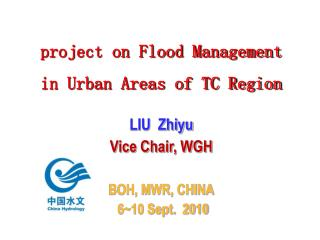 project on Flood Management in Urban Areas of TC Region