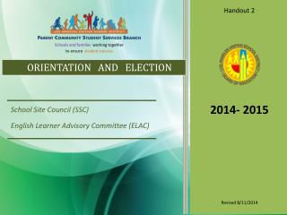ORIENTATION   AND   ELECTION