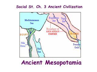 Social St. Ch. 3 Ancient Civilization