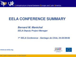 EELA CONFERENCE SUMMARY