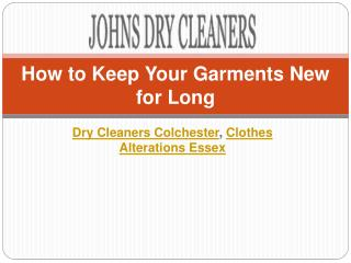 How to Keep Your Garments New for Long