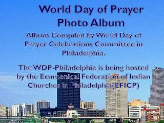 World Day of Prayer  Photo  Album