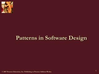 Patterns in Software Design