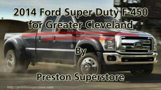 ppt 41972 2014 Ford Super Duty F 450 for Greater Cleveland