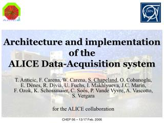 Architecture and implementation of the  ALICE Data-Acquisition system