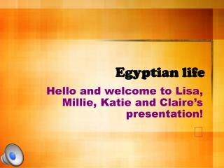 Egyptian life