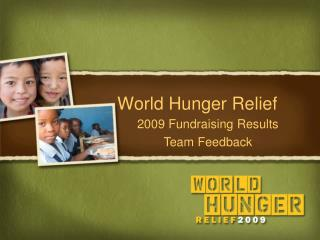 World Hunger Relief