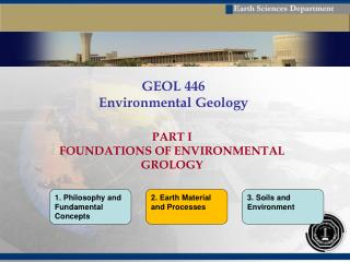 GEOL 446 Environmental Geology
