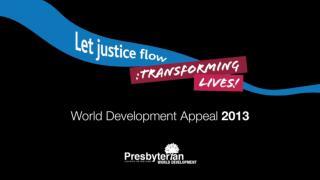 WDA 2013 ppt presentation